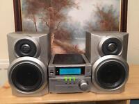 Panasonic small CD player, radio. Aux