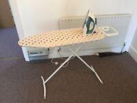 Iron + ironing table