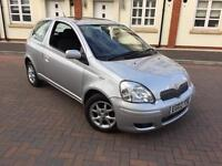 TOYOTA YARIS 1.3 T SPIRIT AUTOMATIC 2003/03 REG NEW MOT 2 LADY OWNERS FULL HISTORY LOVELY CAR