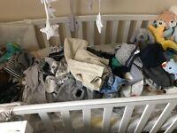 Bundle of baby boy clothes 0-3