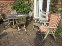 Teak Garden Furniture Set