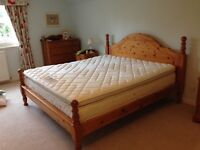 6 ft super king sized bed and mattress