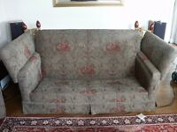 Stunning Antique Knowles Drop Side Sofa in excellent condition.