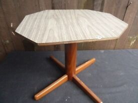 Table Rotates Small Wood Delivery Available