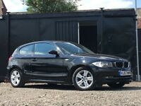 ★ 2008 BMW 1 SERIES 118D 3 DOOR + ALLOYS + PARKING SENSORS ★