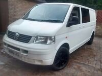 Vw t5 lwb campervan