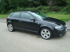 Audi A3 2.0ltr TDI Sport 140bhp 3 door in Black. Looks and drives superb. Will sell quickly !