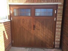 Side Hinged Garage Door / Great Condition / Clearance Sale