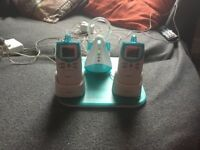 Angelcare baby monitors x 2 & sensor pad.