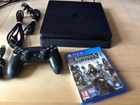 Latest PS4 slim with assassins creed syndicate receipt and warranty