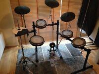 Roland Td3 Electronic Drumset, Heavily Customised Kit