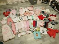 Girl bundle 0-3months
