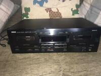 Yamaha KX-W321 double cassette player/recorder