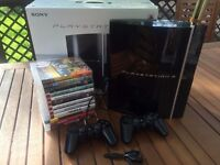 PS3 & 12 Games