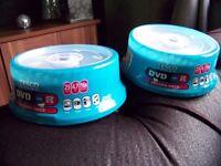 NEW Sealed DVD-R Packs