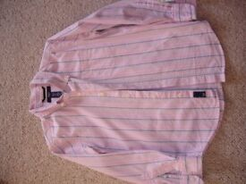 Gap pink stripe shirt uk 6-7years