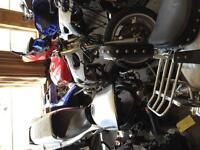 Currently parting out several sport bikes