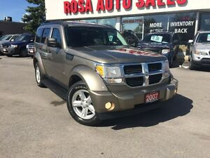 2007 Dodge Nitro 4WD SUV 4X4 SUNROOF TOE PW PL PM A/C SAFETY ETE