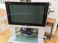 "Panasonic TV 42"" screen with stand"