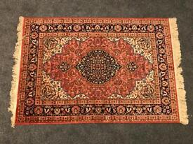 Retro Psychedelic 60s Style Persian Rug