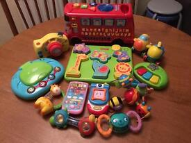 Various Baby toys bundle