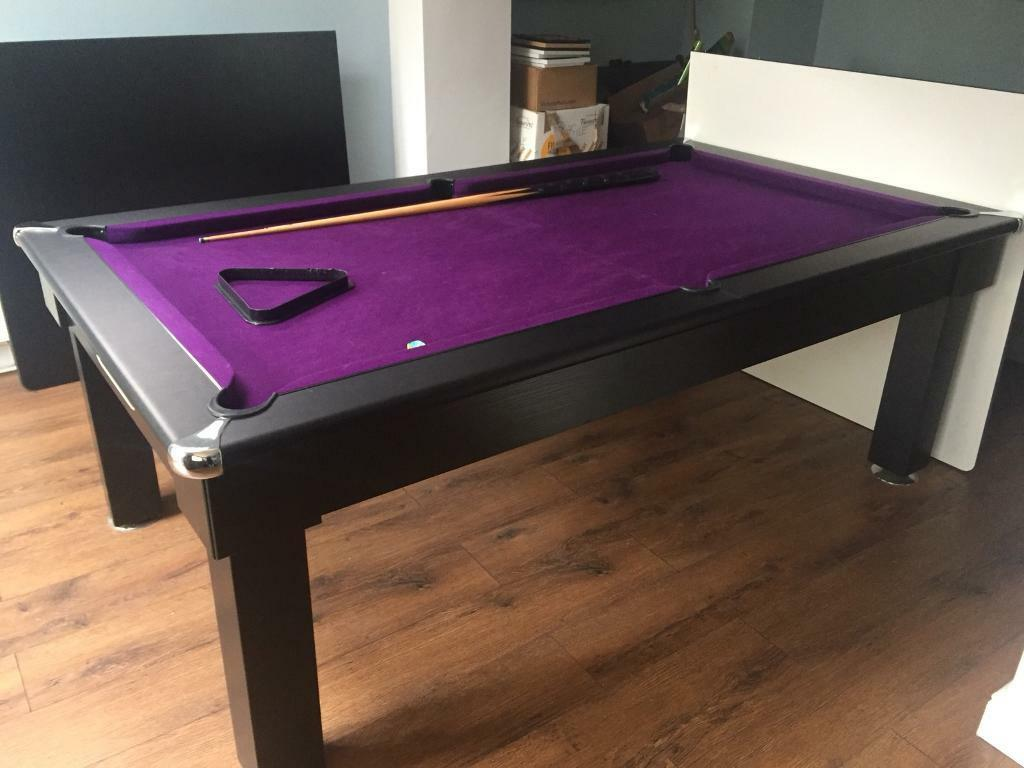 SOLD Oxford Pool Dining Table FT COLLECTION ONLY In - Pool dining table 7ft