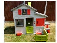 Large Smoby Playhouse **SUPERB CONDITION**