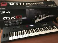 Yamaha MX61 Synthesizer with lots of extras
