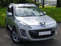 £0 DEPOSIT FINANCE*** Peugeot 4007 2.2 HDi GT 5dr MASSIVE SPEC* SAT NAV, LEATHER, **7 SEATER**