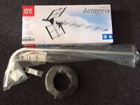 TV Aerial, Crank Mast and Coaxial Cable