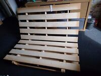 Double Sized Ikea Futon Couch/Bed Frame *Can Deliver*