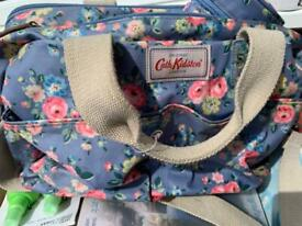 Cath kidston baby changing floral bag