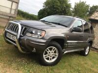 "Jeep Grand Cherokee 2005"" Facelift 4x4 new mot, turbo diesel, px welcome"