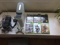 Xbox 360 bundle / with controller and games