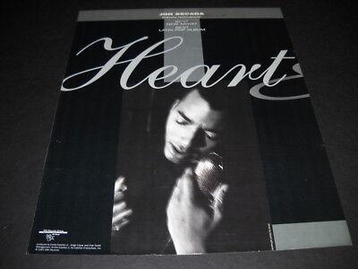 JON SECADA Grammy Nom BEST NEW ARTIST/BEST LATIN POP ALBUM 1993 Promo Poster