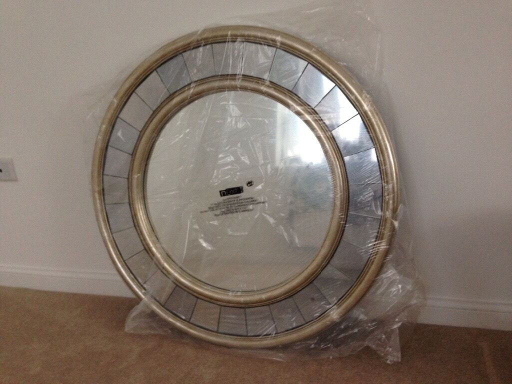 Next New Large Round Juliette Mirror For