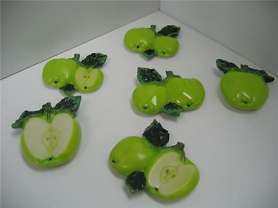 3D Apple magnets 6 pcs.Kitchen decor home ...