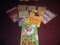 children horrible histories books