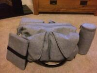Lassig nappy change bag