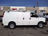 2014 Chevrolet Express 2500 ladderrack,shev.fin or lease from4.9