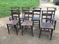 Seven Prayer Chairs