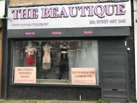 RENT Shop office to let Tonge moor Road Bolton . Potential Salon or Take away Security Shutters