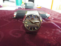 Men's 1982 Orient Imperial Navy Crystal 21 Jewels Watch