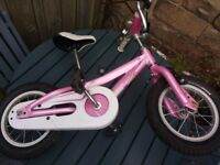 girls bike aged 3-5 - two for sale