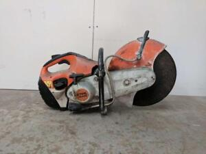 HOC STIHL TS420 CONCRETE SAW QUICK CUT OFF SAW FULLY REBUILT + WARRANTY + FREE SHIPPING