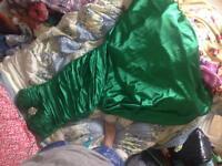 Emerald prom dress