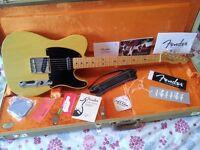 Fender Telecaster 52 USA Vintage Reissue Electric Guitar. Stratocaster Gibson 50s 54 56 58 59 62 65