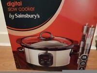 Sainsburys slow cooker