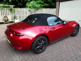 Mazda MX 5 Sport Nav 1.5 Soul Red