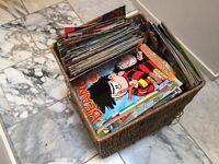 250+ Comics (Beano's and Dandy's))
